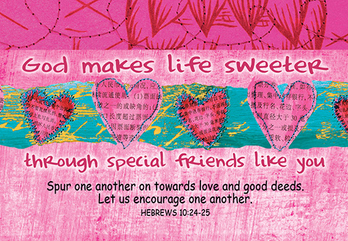 Pass It On Cards God Makes Life Sweeter (8 pack)